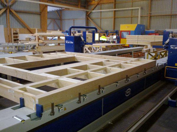 MBA Automatic Timber Fame Assembly Station