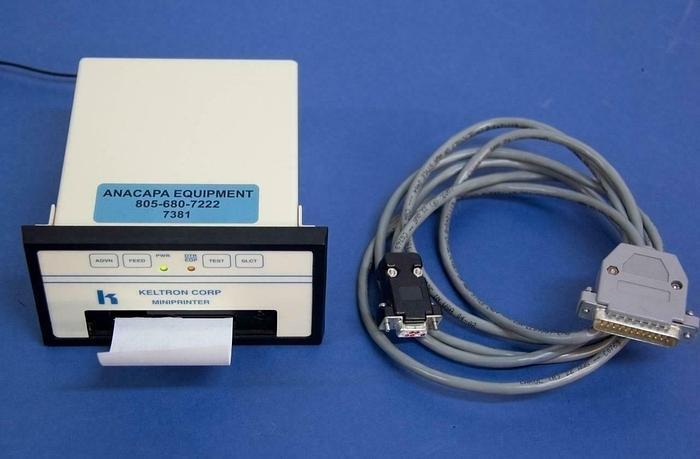 Used Keltron Corp. LC401/5B Compact Impact Printer w/ Power Supply USED (7381)R