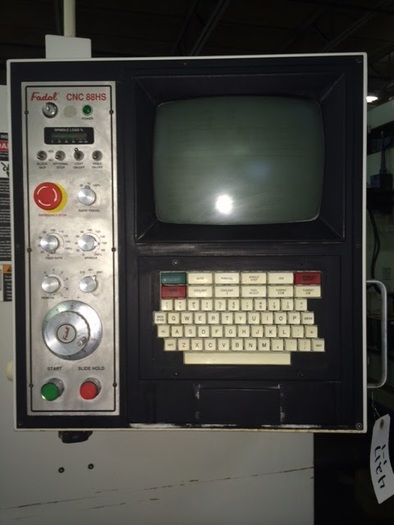 1998 FADAL 2216 VERTICAL MACHINING CENTER 98