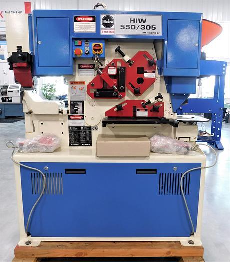 NEW Mubea 62 Ton Hydraulic Ironworker HIW 550/305