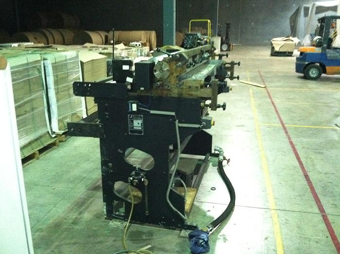 "Used 54"" (1.37M) JAGENBERG LEMO VARIOFLEX TYPE 1400.1 1 COLOR PRINTING PRESS"