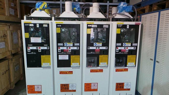 Used Air Products 210173 Cabinet, Gasguard Gas KR / NE