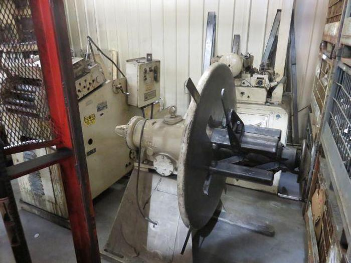 """Used 4,000# x 20"""" EGAN NON-POWERED COIL REEL"""