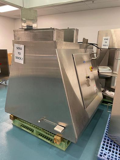 Used TOte Systems blender with 40 cuft  totes
