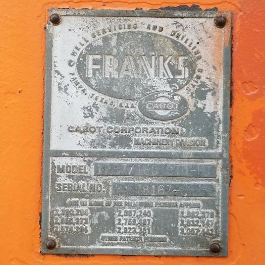 1979 FRANKS 1287/160