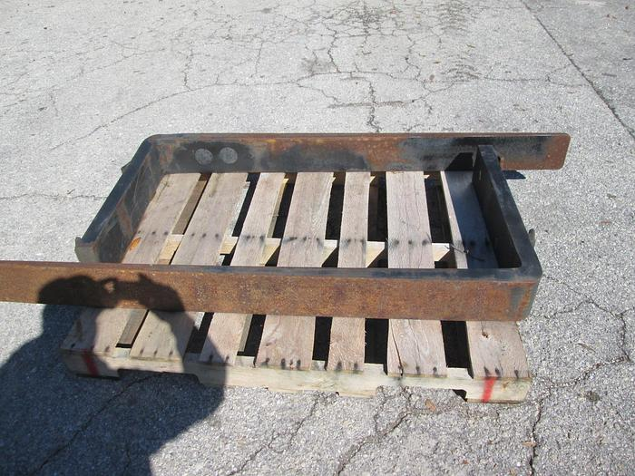 "Used Heavy Duty Forklift Forks 6"" Wide X 5' Long"