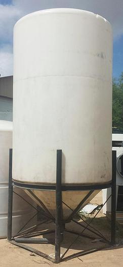 Used TK-09: 1,490 Gallon Cone-Bottom Tank