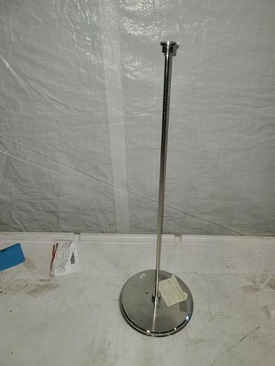 Used Biogen 24803 BPG 200 Adapter Plate 19 1112 81 Stainless Steel