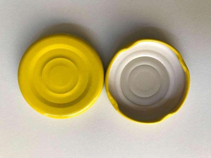 Gebraucht Weißblech-Nockendrehverschlüsse (Caps)