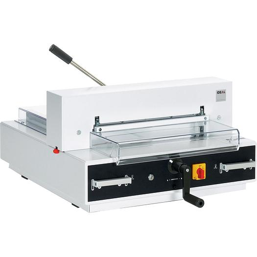 IDEAL 4350 Electric Desktop Guillotine With Automatic Clamp