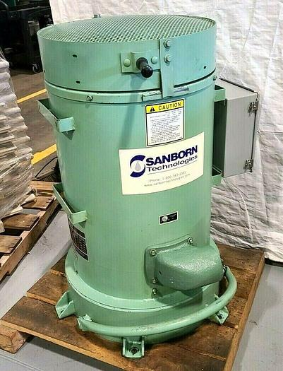 """Used New Holland K90 18"""" Spin Dryer Electric Heat Dry Wet Parts Fast!"""