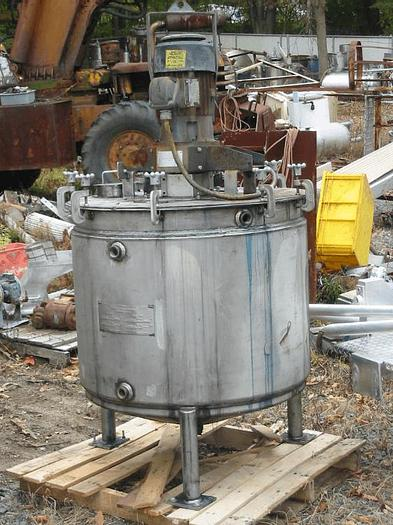 Used 5 HP ARDE BARINCO TANK MOUNTED MIXER/EMULSIFIER – S/S