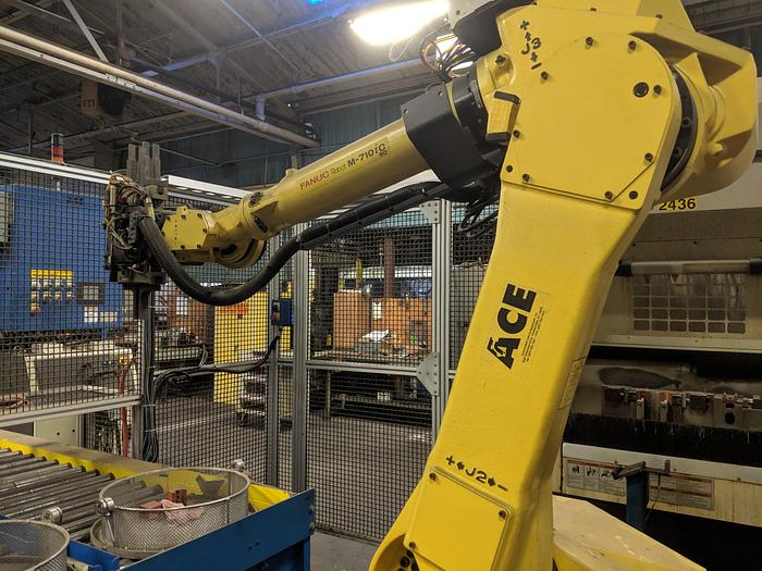 Fanuc FANUC M710 iC/50 Robot with FANUC iRVision System
