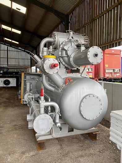 Used 2017 Sabroe OHU 10737 Rotary Screw Compressor