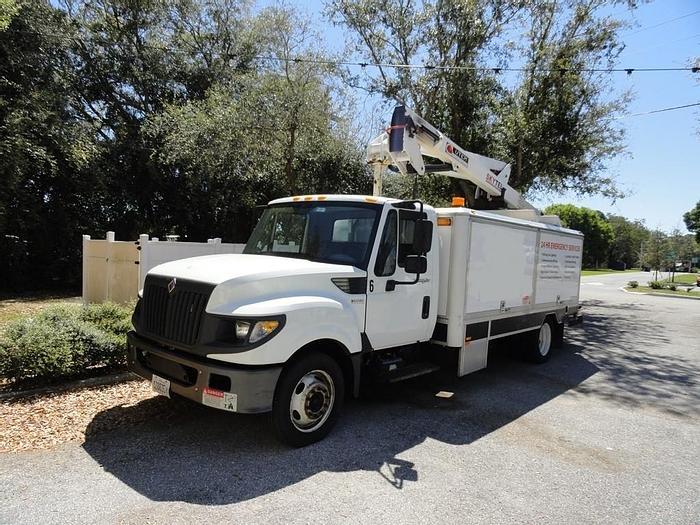Used 2012 International Omnivan WH48ft SkyTel Bucket Truck - M13919