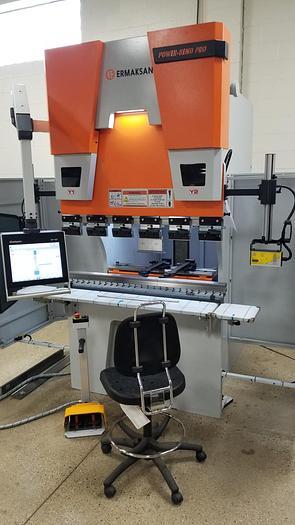 66 Ton x 4' Ermak SEATER CNC Press Brake **IN STOCK**