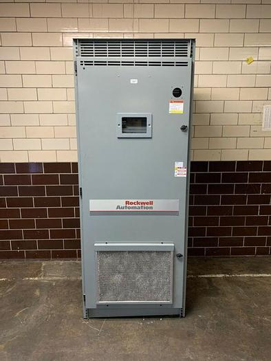 """Used Rockwell Automation Drive System Cabinet 87""""x 34""""x 24"""""""