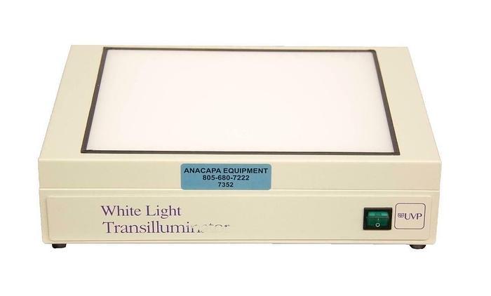 Used UVP 95-0208-01 White Light Transilluminator 8-Watt 21 x 26 cm 115 VAC (7352) R