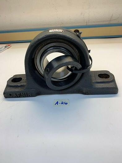 Used FAFNIR RSA 2 7/16 PILLOW BLOCK BEARING - CAST IRON - TWO BOLT BASE