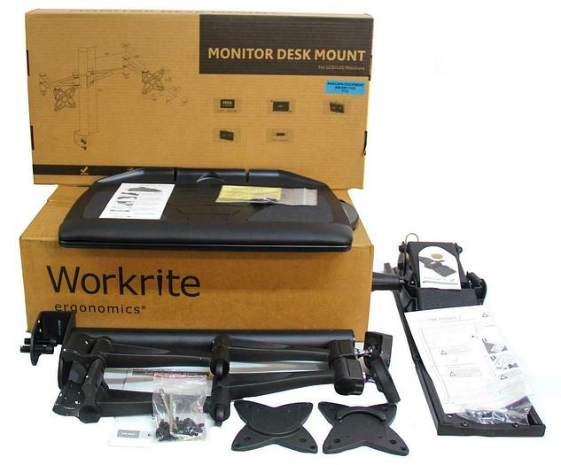 WorkRite 2128-22 Banana-Board, Monoprice PID 5560 Dual Monitor Arm NEW (7715) W