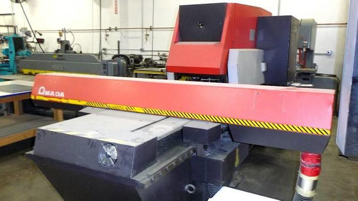 Used Amada Aries 245 CNC Turret Punch Press 20 Ton PRICED TO SELL