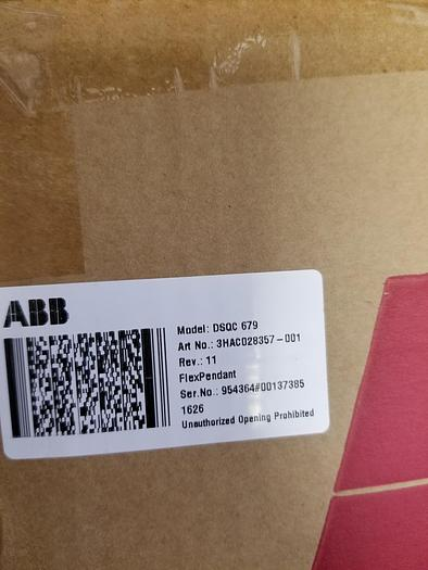 ABB IRB 1200-5/0.9, NEVER USED WITH VISION SOFTWARE, CAMERA, AND FLEX FEEDER