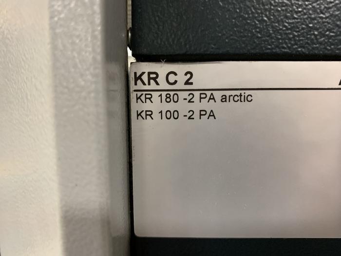 KUKA KR 100-2 PA 4 AXIS PALETTIZING ROBOT W/KRC 2 ed05 CONTROLLER