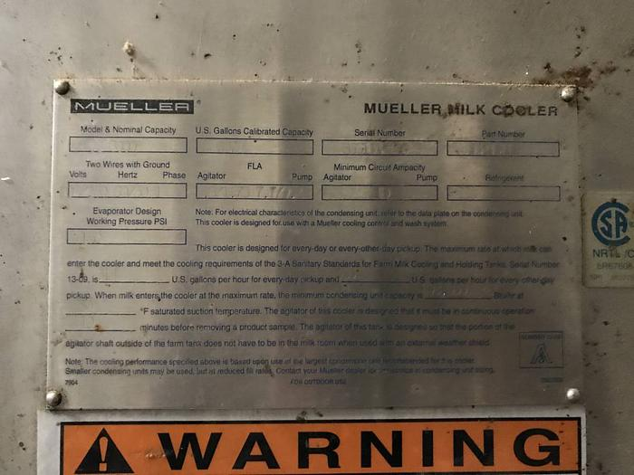 Mueller 6000 gallon