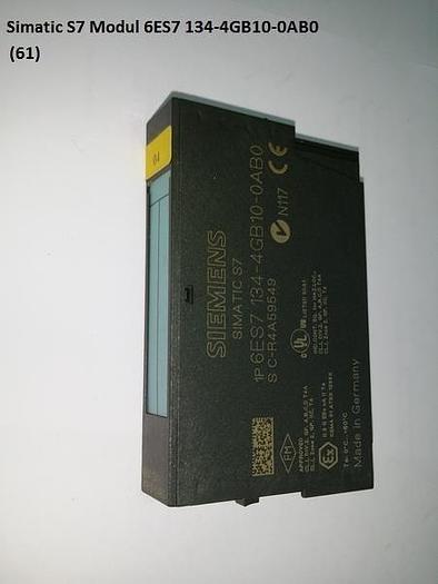 Gebraucht Simatic S7 Modul, 6ES7 134-4GB10-0AB0, Siemens
