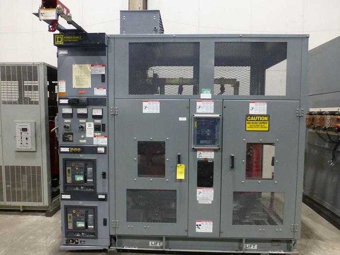 Used SQUARE D COMPANY 750 / 1000 KVA TRANSFORMER W/ BREAKERS