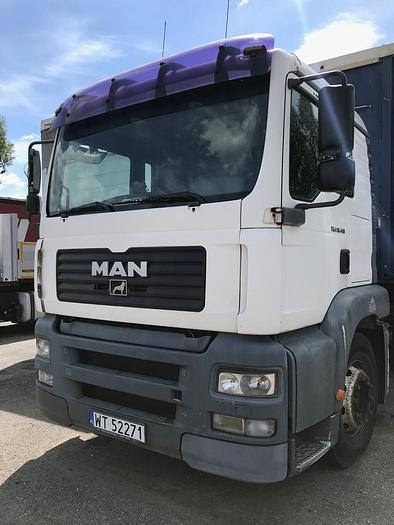 MAN TGA 18.410 , euro 2 ,  AUTOMATIC , HYDRAULIC