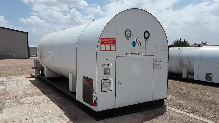 Used 18 Ton Tomco C CO2 Bulk Storage Tank
