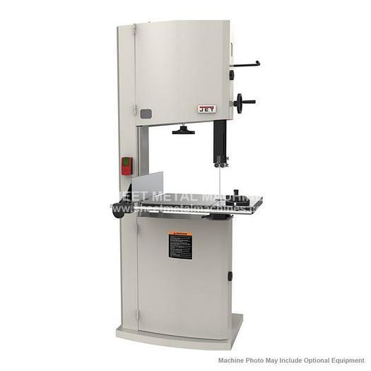 JET JWBS-20-3 Steel Frame Bandsaw 3HP 230V 714800