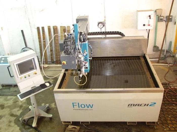 Used 2015 Flow Mach 2 1313b CNC Waterjet Cutting System(#9837)