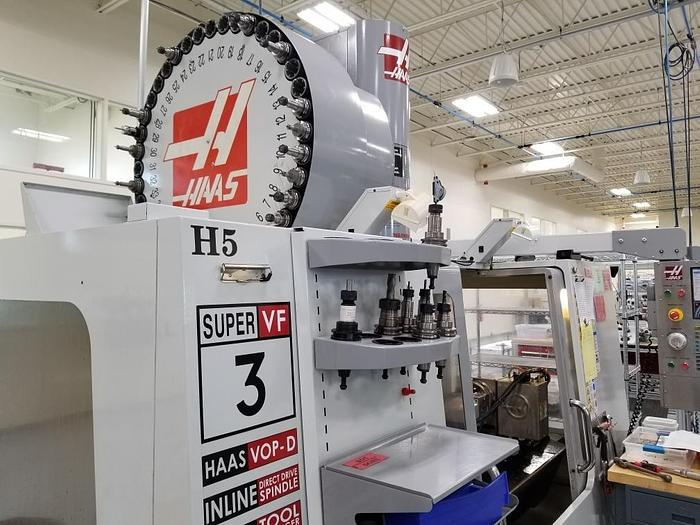 Used 2008 Haas VF3SS with 4th & 5th Axis