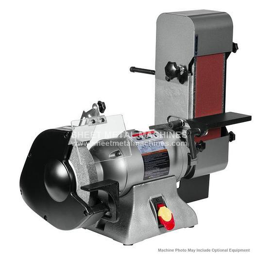JET IBGB-436 Combination Bench Grinder and Belt Sander 578436