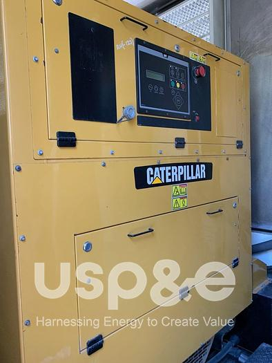 Used 9.8 MW 2012 Used Caterpillar TM 2500G8 Diesel Generator
