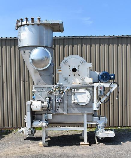 Used USED BAUERMEISTER UNIVERSAL MILL, MODEL UT33, PULVERIZER PACKAGE