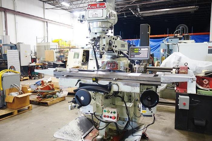 King Rich Vertical Machining Mill KR-V3000SL