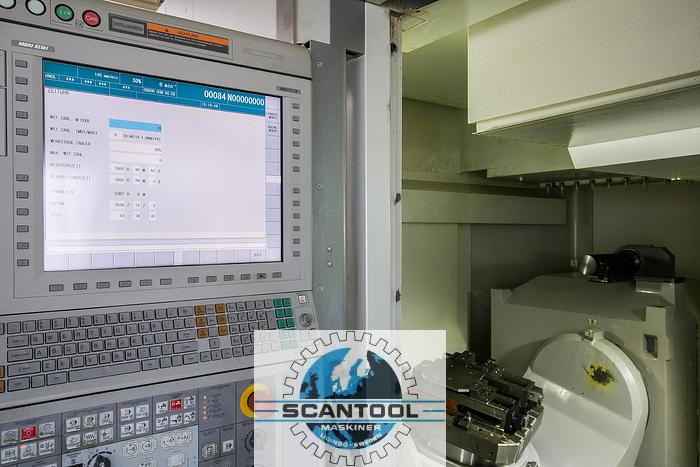 Used 5-axes Horizontal Machining Centre