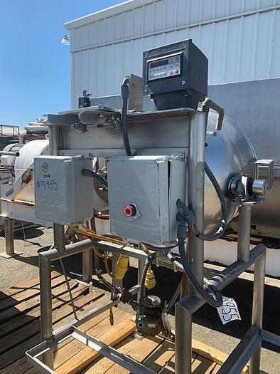 70 Gallon Burkhard Jacketed Stainless Steel Tilting Steam Kettle