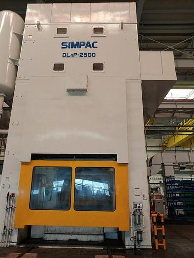 Used SIMPAC DL4P-2500
