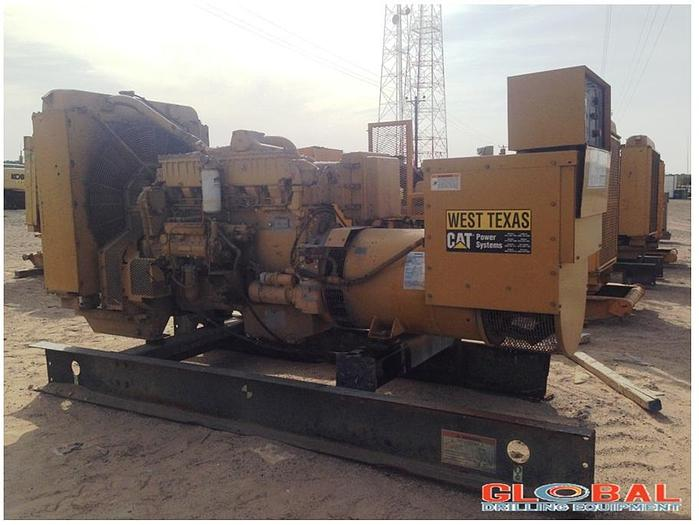 Used Item 0666 : 2000 Caterpillar 3406 Generator Set w/ Engine