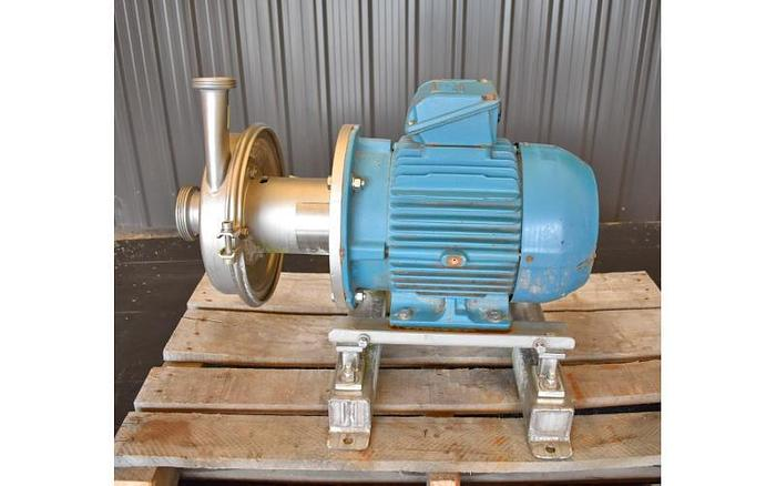 """USED ALFA LAVAL CENTRIFUGAL PUMP, 2.5"""" X 1.5"""" INLET & OUTLET, STAINLESS STEEL"""