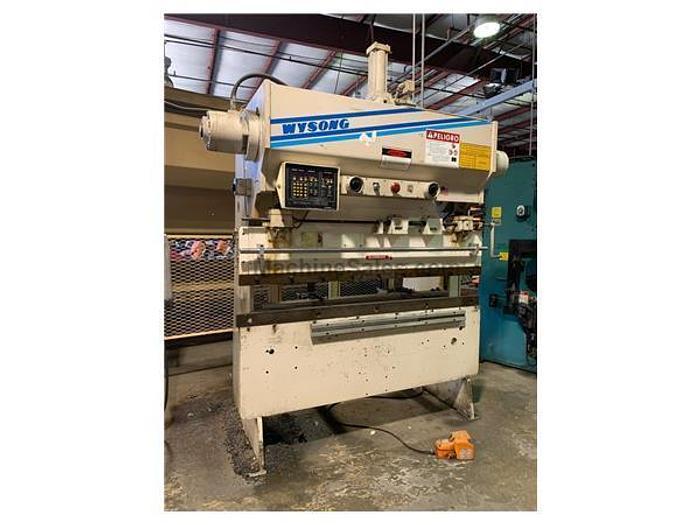 40 Ton x 6' Wysong Hydra-Mechanical CNC Press Brake