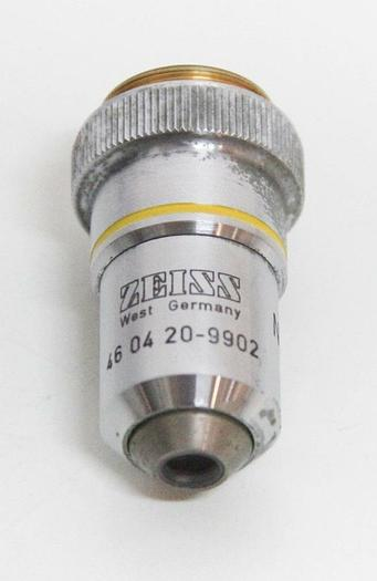 Used Zeiss Neofluar 10x 0,30 160/- Microscope Objective 46 04 20-9902 (5918)