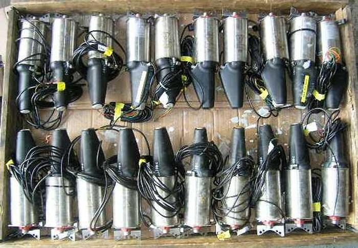 Used Alfa Laval LKLA-T NC stainless steel (304) actuators