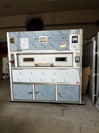 Fish Revolving Tray Oven (Gas) 75-12