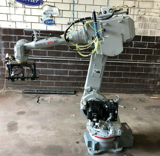 Used Yaskawa Motoman EPL80 Robot YR-SP800N-A00 Payload 80kg