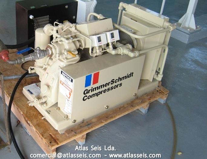 Used GrimmerSchmidt Compressor 80 PSIG 30 CFM 6600 RPM